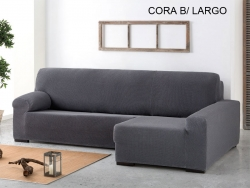 Funda chaise longue ajustable Cora - Brazo Largo