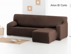 Funda chaise longue ajustable Arion - Brazo corto