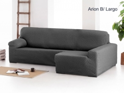 Funda chaise longue ajustable Arion - Brazo largo
