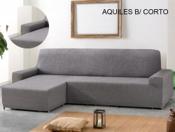 Stretch Chaise Sofa Covers Aquiles - Short Arm